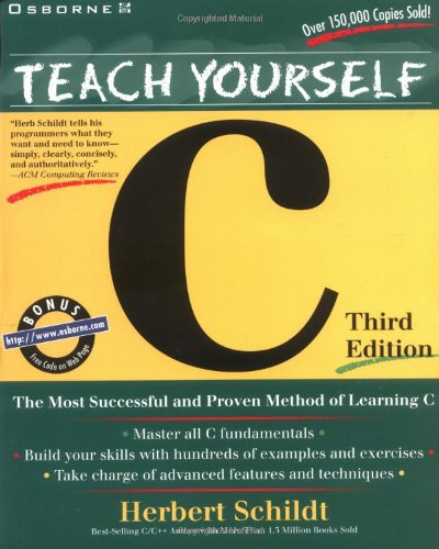 Teach Yourself C (0078823110) by Herbert Schildt