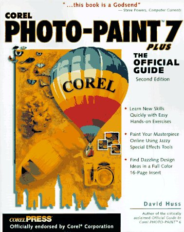 9780078823213: Corel Photo-Paint 7 Plus: The Official Guide
