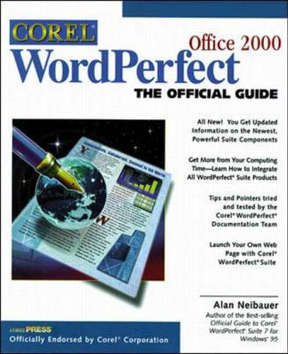 9780078823275: Corel Wordperfect Suite 8: The Official Guide