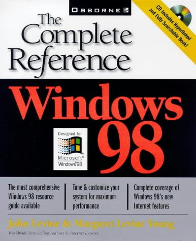 9780078823435: Windows 98: The Complete Reference