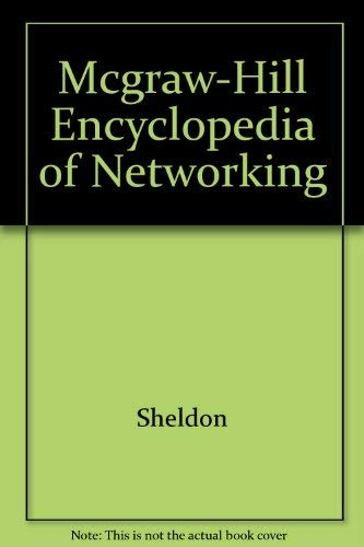 9780078823503: McGraw-Hill Encyclopedia of Networking Electronic Edition