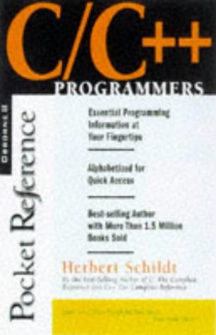 9780078823671: C/C++ Programmer's Reference (Programmers pocket references)
