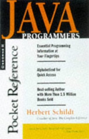 9780078823688: Java Programmer's Reference (Pocket Reference)