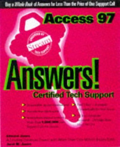 9780078823824: Access 97 Answers: Certified Tech Support