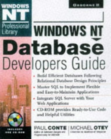 9780078823848: Windows Nt Database Developer's Guide (Windows Nt Professional Library)