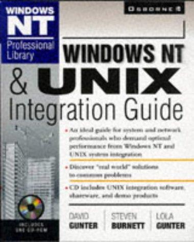 9780078823954: Windows NT & UNIX Integration Guide