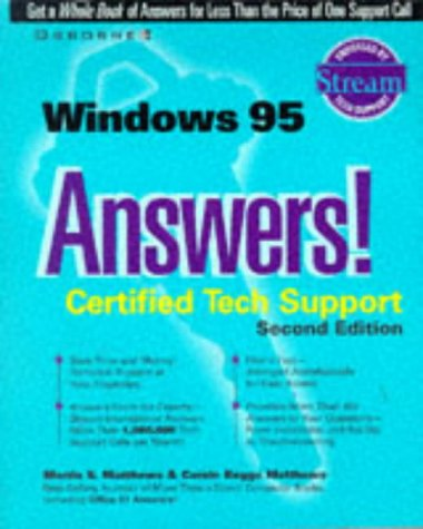 9780078823992: Windows 95 Answers! Certified Tech Support
