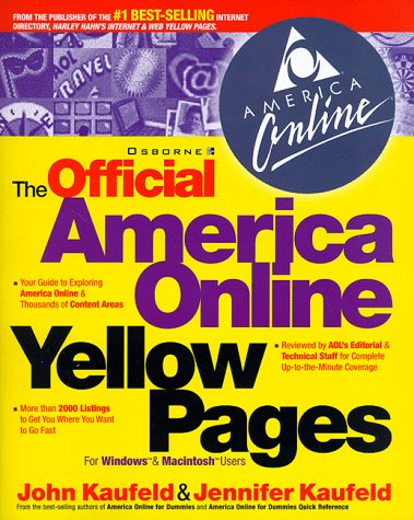 9780078824166: The Official America Online Yellow Pages