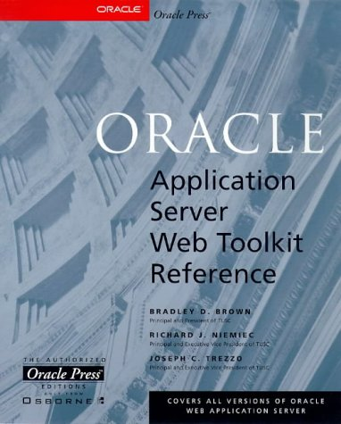 9780078824333: Oracle Web Application Server Web Toolkit Reference