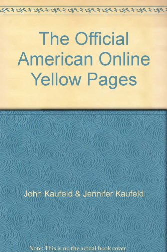 9780078824548: The Official American Online Yellow Pages