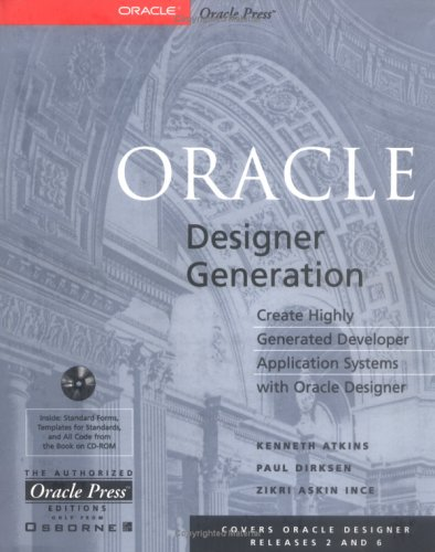 9780078824753: Oracle Designer Generation with CDROM