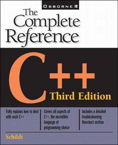 9780078824760: C++: The Complete Reference