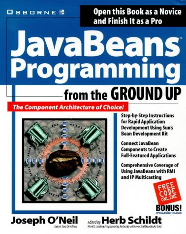 9780078824777: JavaBeans Programming from the Ground Up