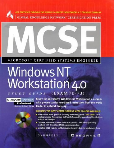 9780078824920: MCSE Windows NT Workstation 4 with CDROM (Certification Study Guides)