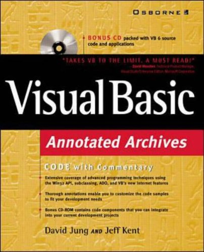 9780078825026: Visual Basic Annotated Archives