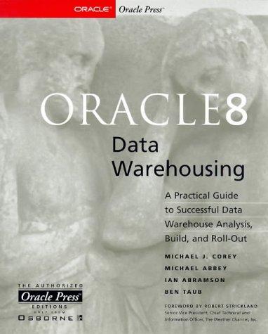 9780078825118: Oracle8 Data Warehousing (Oracle Press Series)