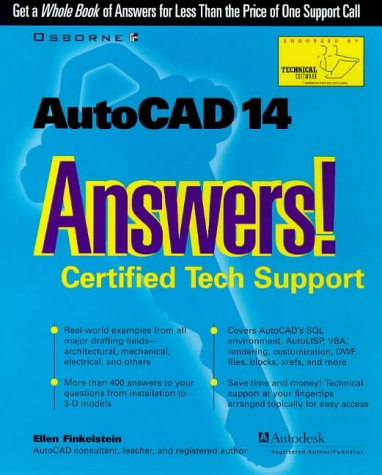 9780078825156: AutoCAD 14 Answers! Certified Tech Support