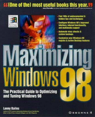9780078825392: Maximizing Windows 98