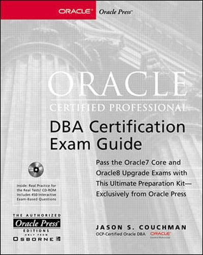 9780078825491: Oracle Certified Professional Dba Certification Exam Guide