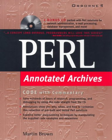 9780078825576: Perl: Annotated Archives