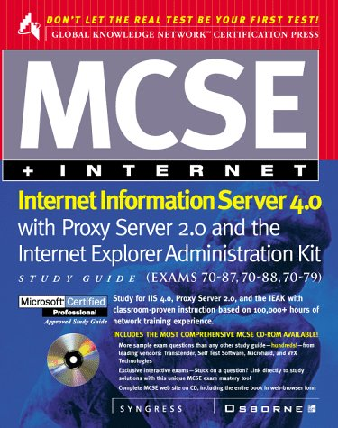 9780078825606: MCSE Internet Information Server 4.0 Study Guide
