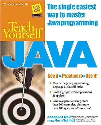9780078825705: Teach Yourself Java