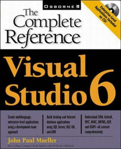 9780078825835: Visual Studio 6: The Complete Reference