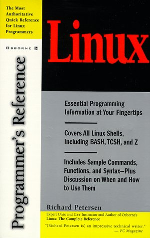 9780078825873: Linux Programmer's Reference