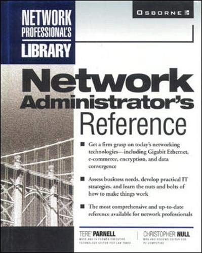 9780078825880: Network Administrator's Reference (Network Professional's Library)