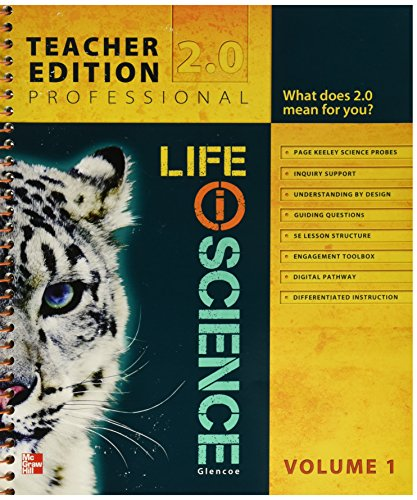 9780078880377: Glencoe Life iScience, Module G: From Bacteria to Plants, Grade 7, Teacher Edition, Vol. 1