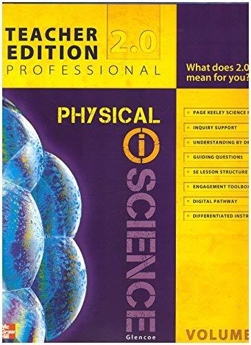 9780078880407: Physical Science 2.0 TE Vol. 1