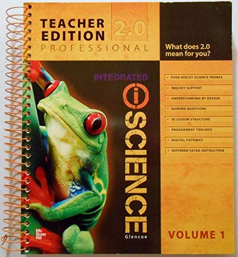 9780078880414: Glencoe Integrated iScience, Course 1, Grade 6, Vol. 1, Teacher Edition