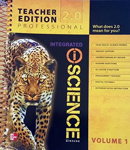Glencoe Integrated iScience, Course 2, Grade 7, Vol. 1, Teacher Edition: Hill, Mcgraw