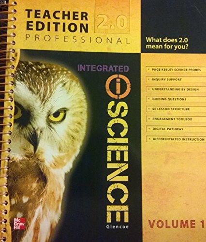 9780078881060: Glencoe Integrated iScience, Course 3, Grade 8, Vol. 1, Teacher Edition