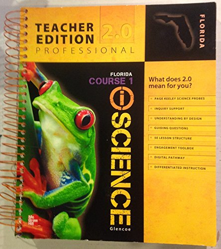 9780078881282: iScience Course 1 Florida Teachers Edition Professional 2.0