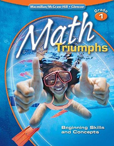 9780078881947: Math Triumphs, Grade 1: Beginning Skills and Concepts, Student Study Guide (MATH INTRVENTION K-5 (TRIUMPHS))