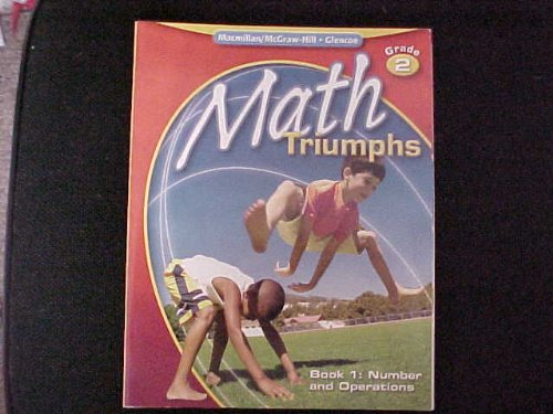 9780078881954: Math Triumphs, Grade 2, Student Study Guide, Book 1: Number and Operations (MATH INTRVENTION K-5 (TRIUMPHS))