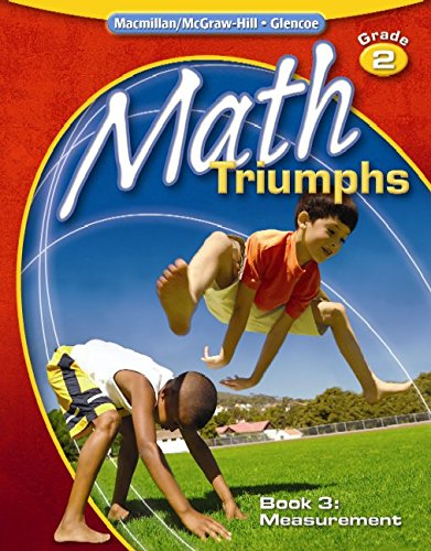 9780078881978: Math Triumphs, Grade 2, Student Study Guide, Book 3: Measurement (Math Intrvention K-5 (Triumphs))