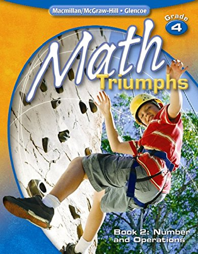 9780078882029: Math Triumphs, Grade 4, Student Study Guide, Book 2: Number and Operations (MATH INTRVENTION K-5 (TRIUMPHS))