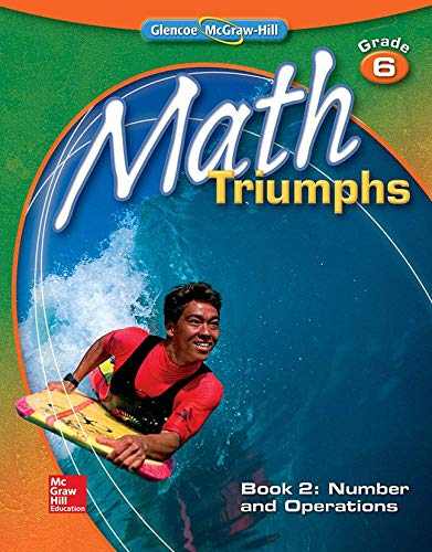 9780078882081: Math Triumphs, Grade 6, Student Study Guide, Book 2: Number and Operations (MATH INTERVENTION (K-5))