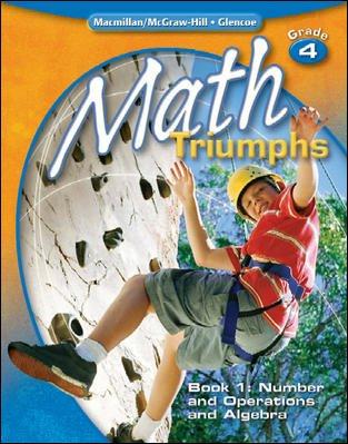 9780078882203: Math Triumphs, Grade 4, Teacher's Edition