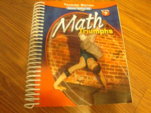 9780078882234: Math Triumphs - Grade 7 (TE)