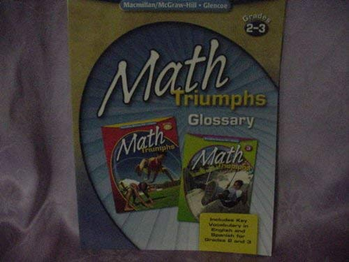 9780078882487: Math Triumphs Grade 6 Assessment Masters