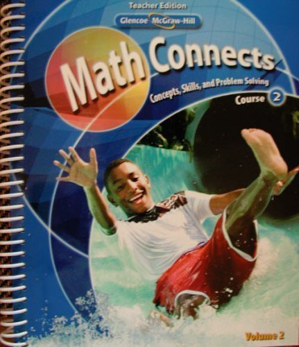 9780078882920: Math Connects: Concepts, Skills, and Problem Solving, Course 2, Teacher Edition, Vol. 2