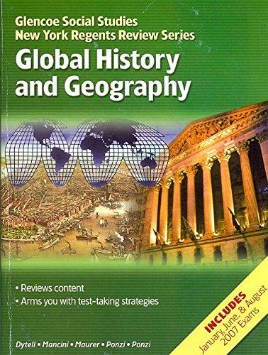 9780078883538: NY Glencoe World History, Global History and Geography Prep, NewYork Regents, Student Edition (Glencoe Social Studies New York Regents Review)