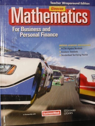 Mathematics for Business and Personal Finance, Teacher Wraparound Edition