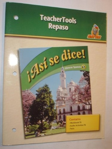 9780078883965: Asi se dice! TeacherTools Repaso (Glencoe Spanish 3)