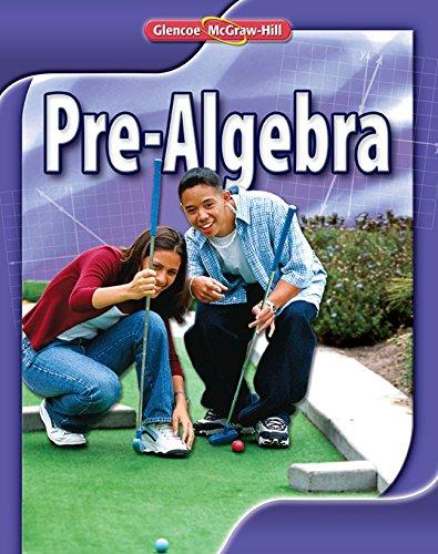 9780078885150: Pre-Algebra, Student Edition
