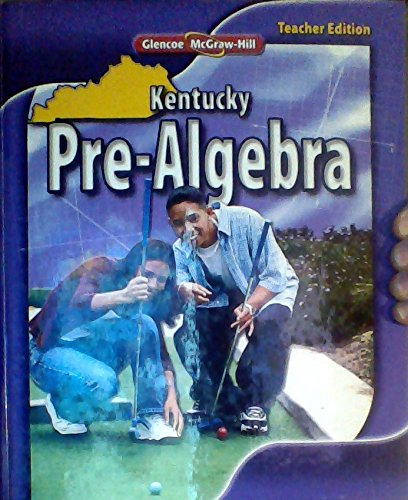 9780078885242: McGraw Hill Kentucky Pre Algebra TE