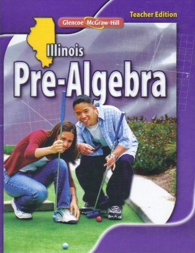9780078885303: Glencoe Illinois Pre- Algebra Teacher Edition 2010